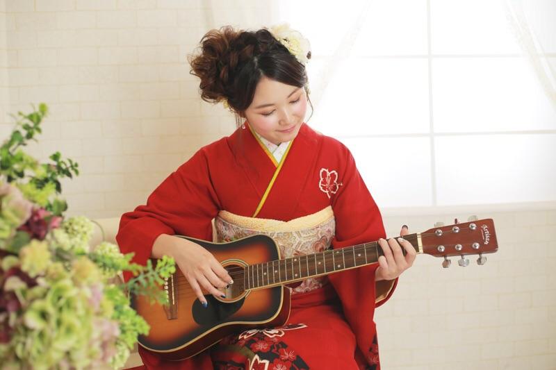 趣味はギター♪