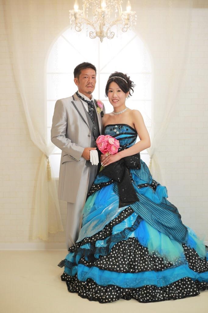 美しい花嫁様と優しい新郎様♡