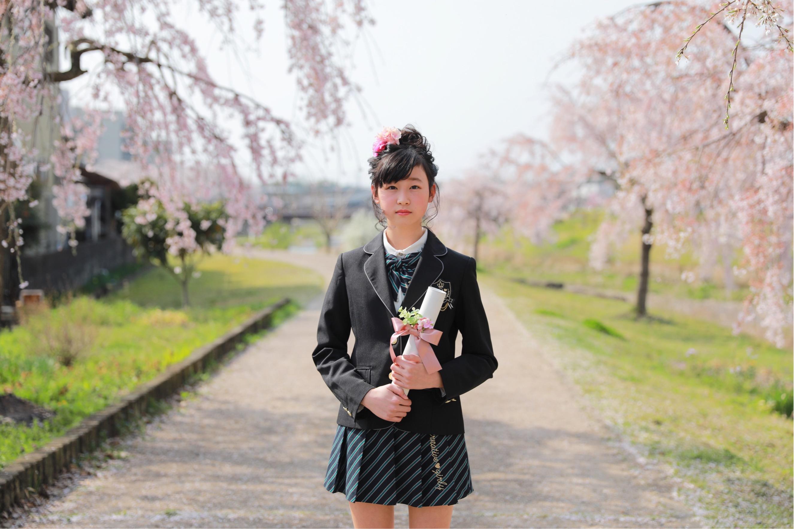 桜、卒業  3/29