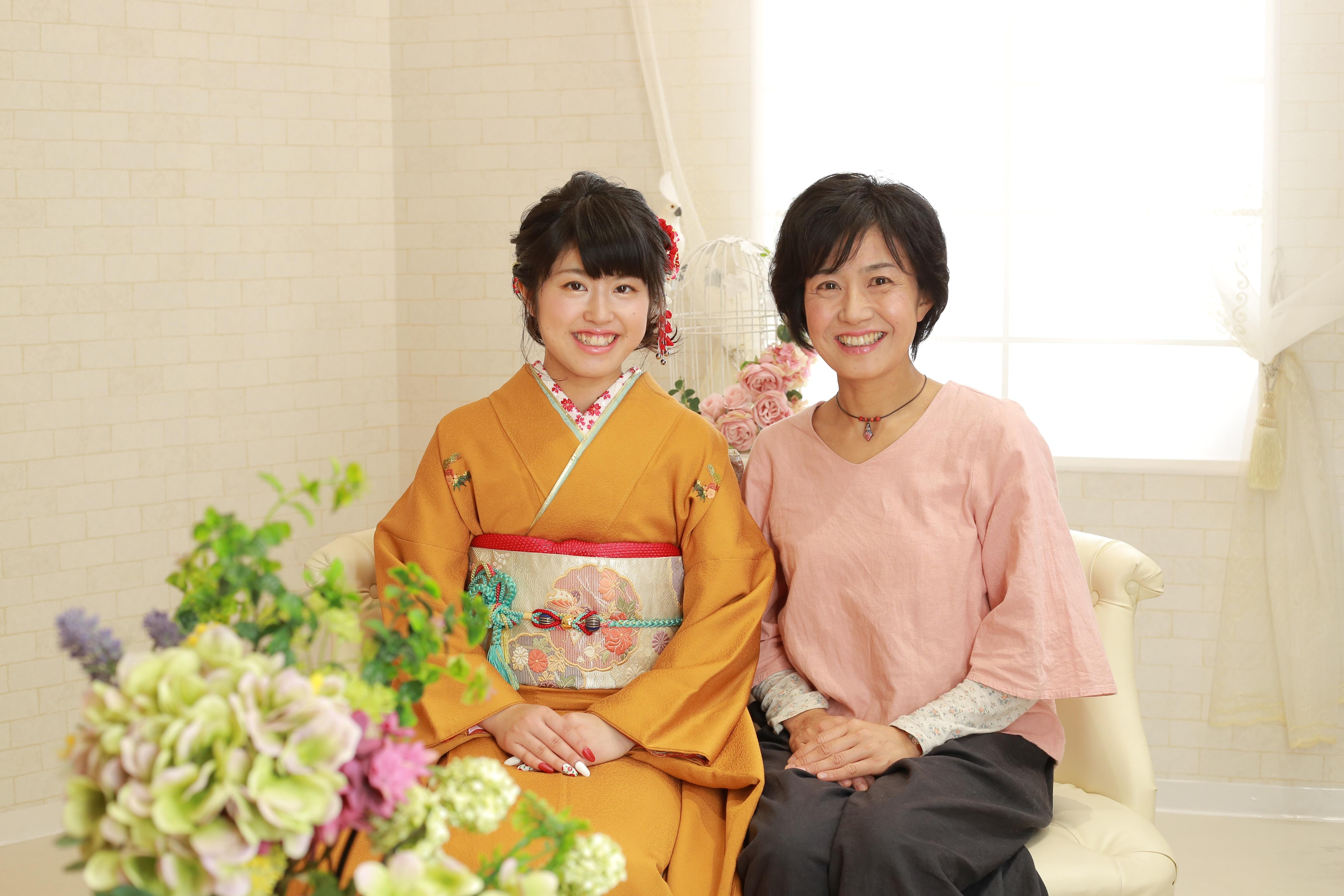 大切な記念にお母様と♡5/26