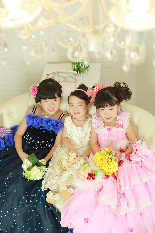 3姉妹の753♥