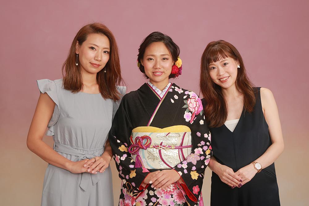 美人3姉妹♪