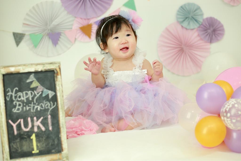 1歳バースデー☆