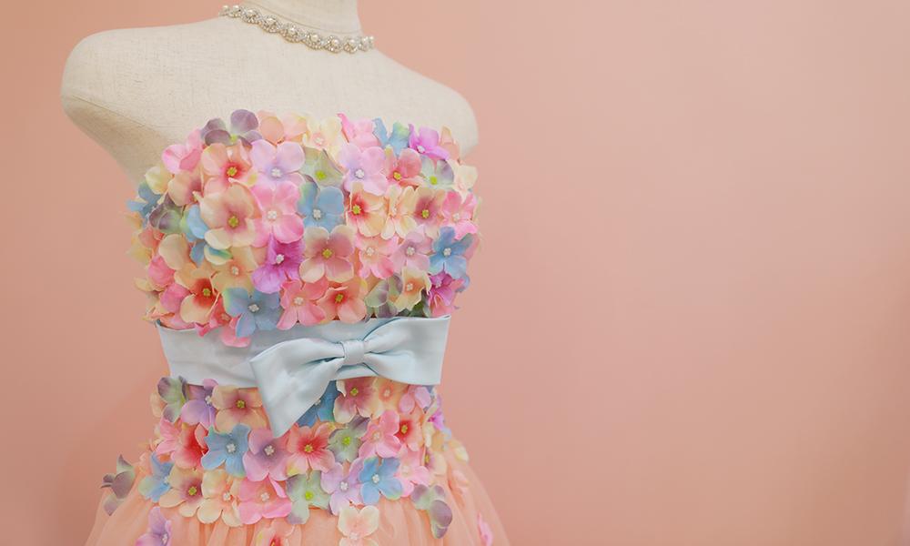【結婚式用】ウェディングドレス・カラードレス レンタル