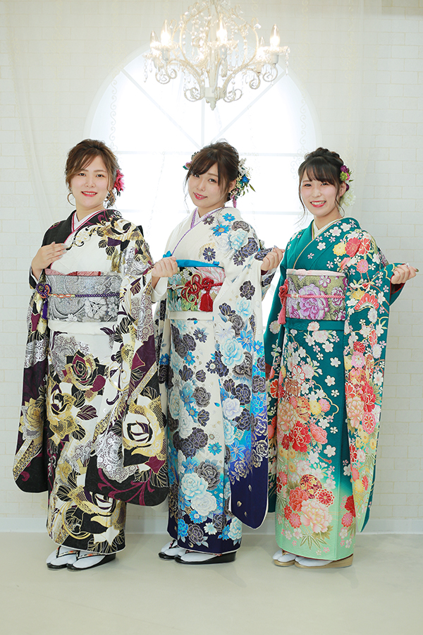 姉妹で成人式撮影 9/30【加茂郡七宗町】