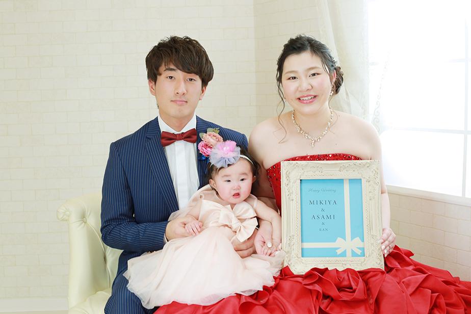 お姉さん達から結婚写真をプレゼント! 【美濃加茂市】