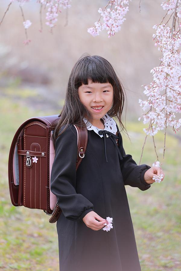 ピカピカの一年生 小学校入学  【美濃加茂市】