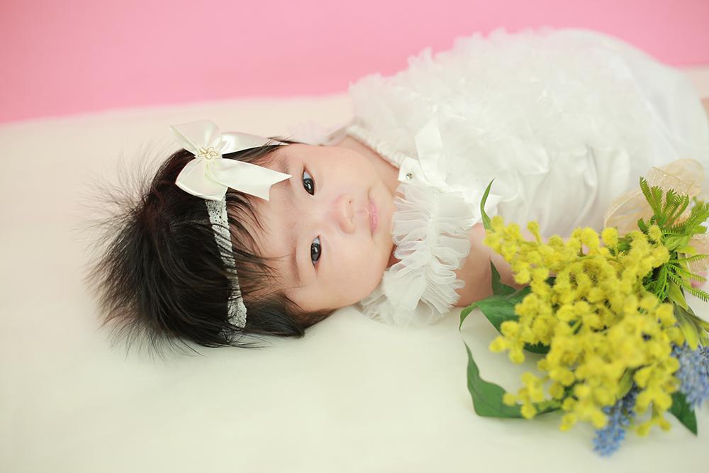 ピンクの似合う女の子のお宮参り♡5/1【可児市】