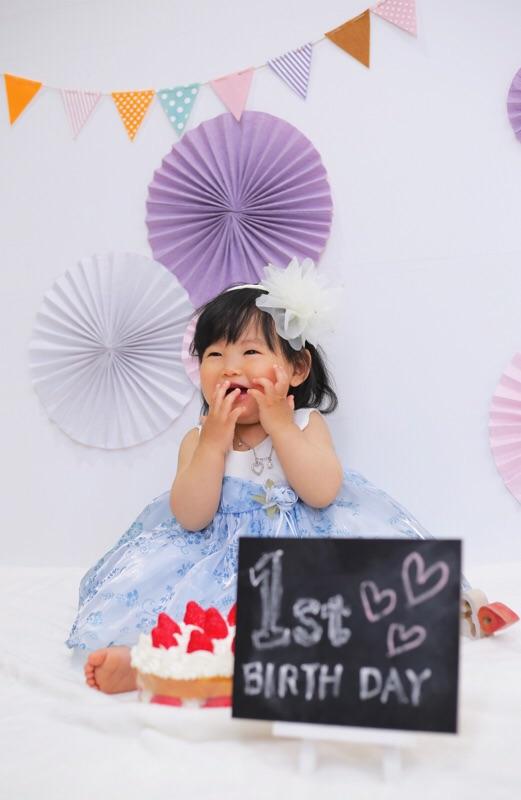 一歳のお誕生日おめでとう!