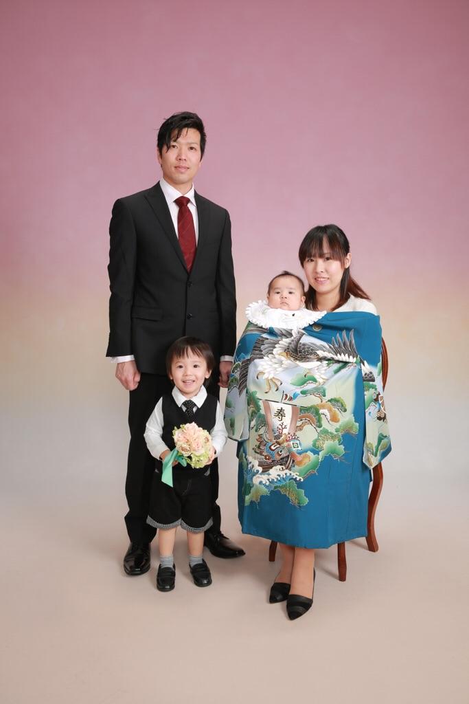 お兄ちゃんと一緒にお宮参り♪ 12/11