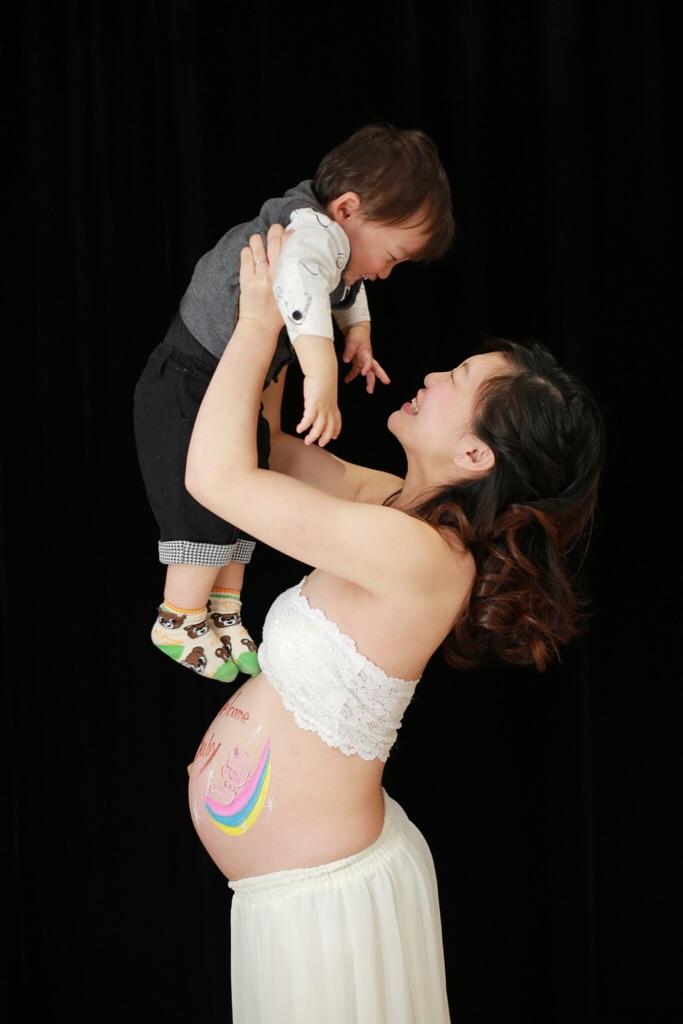ママが大好きなお兄ちゃん♡弟くんがもうすぐ産まれるよ!