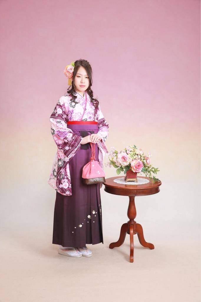 卒業袴♪(3/3)