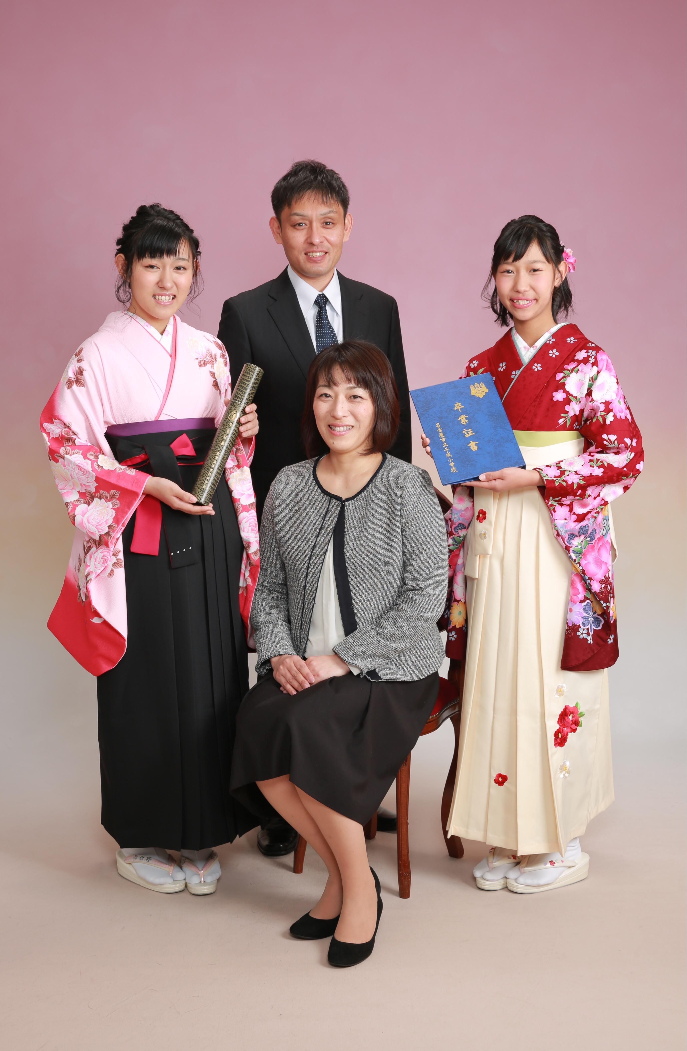 姉妹で仲良く卒業&入学記念★3/21