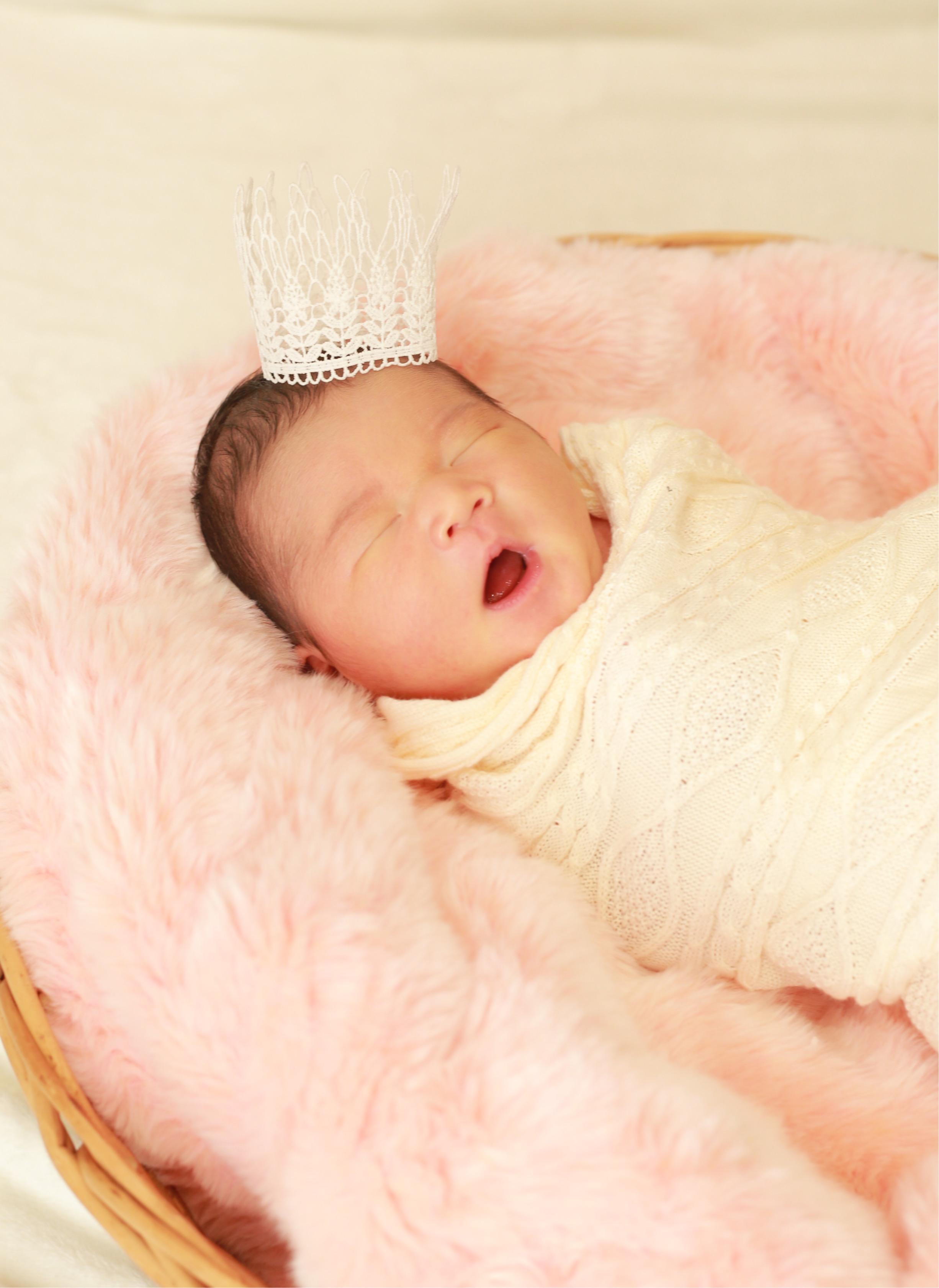 ニューボーンフォト♡生後5日目の赤ちゃん♡