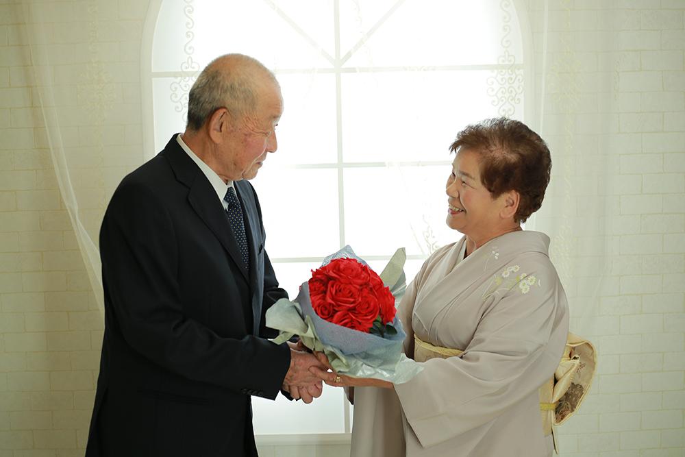 結婚50周年の金婚式&奥様のお誕生日♡