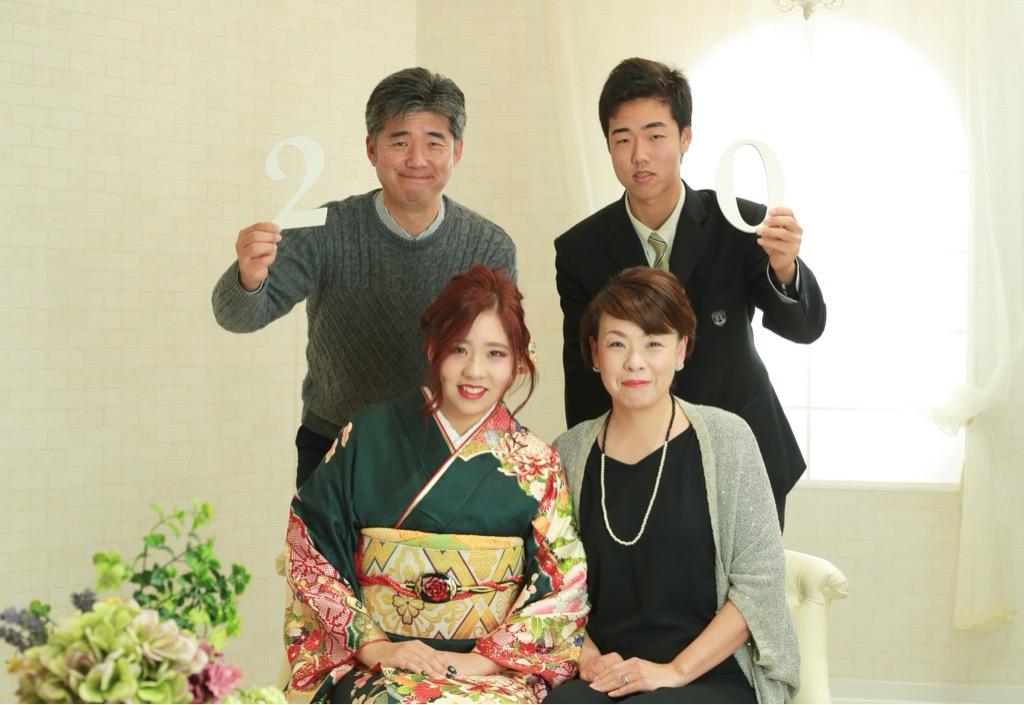 成人式当日撮影★1/13