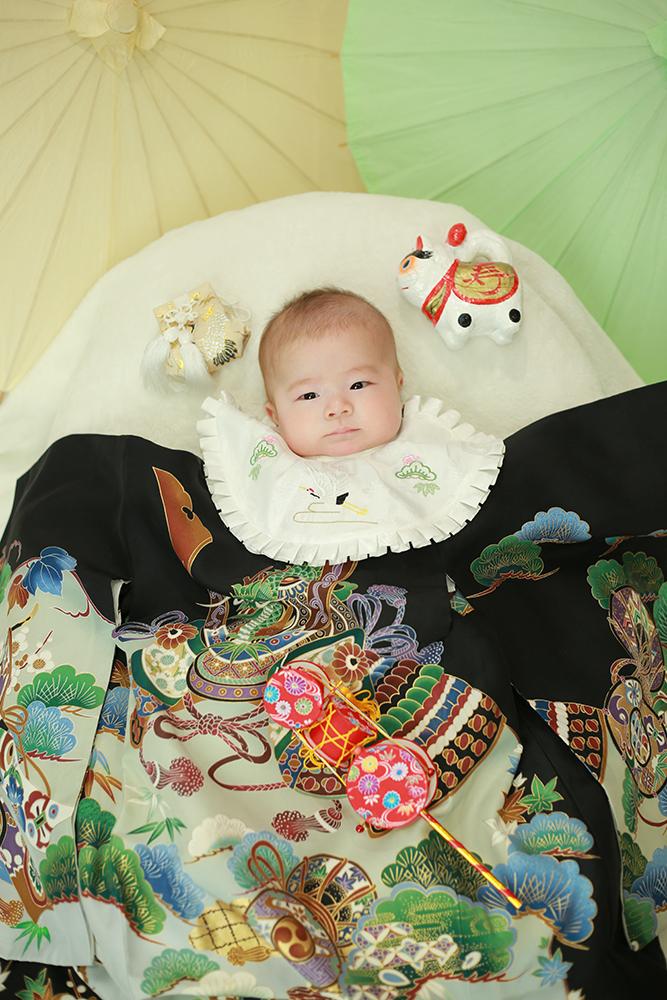 お宮参り 生後3ヶ月の赤ちゃん【可児】