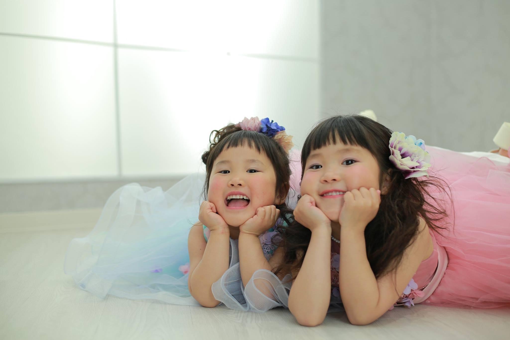 姉妹で七五三☆【可児市】