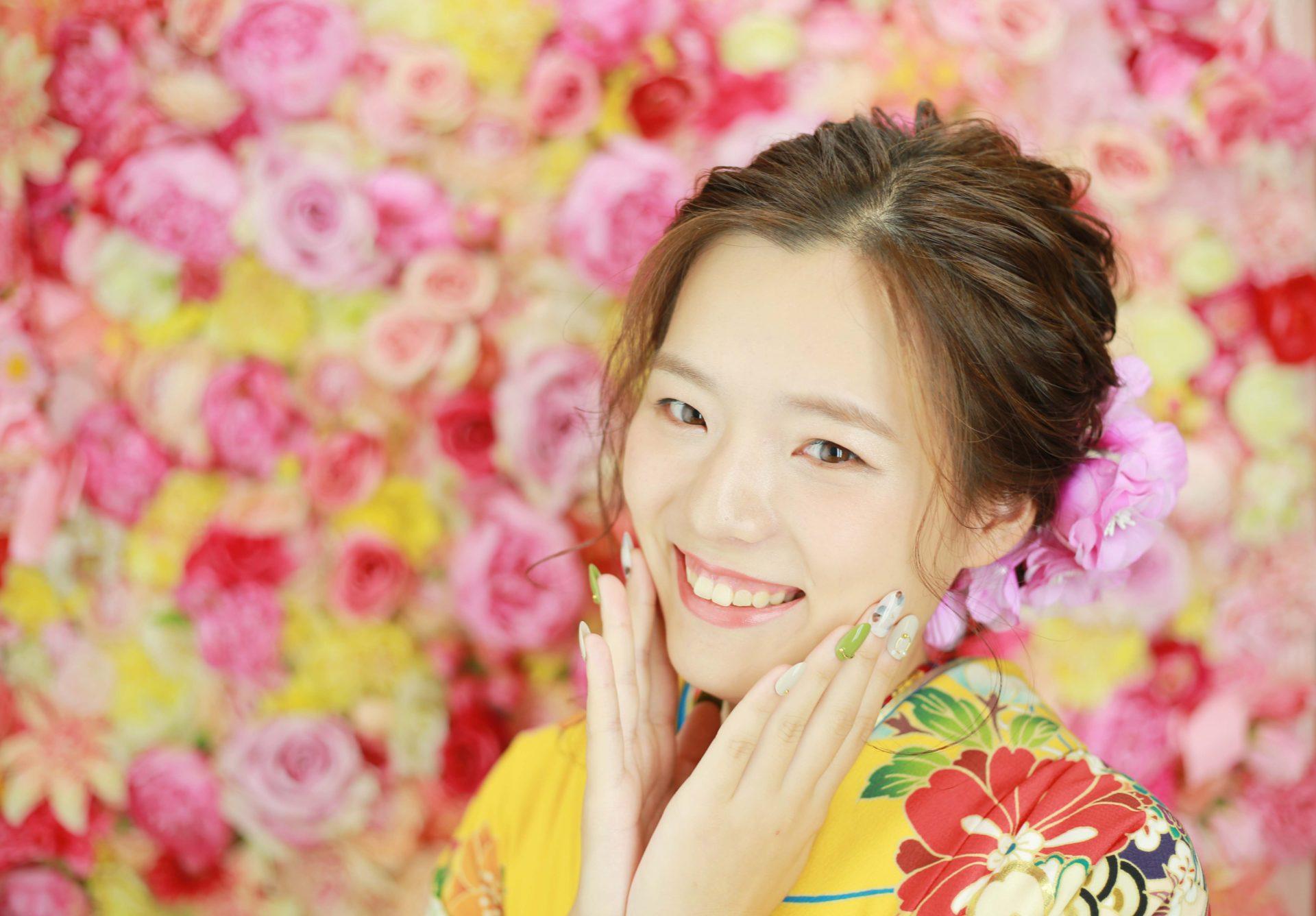 笑顔が咲いた♡成人式前撮り【美濃加茂】
