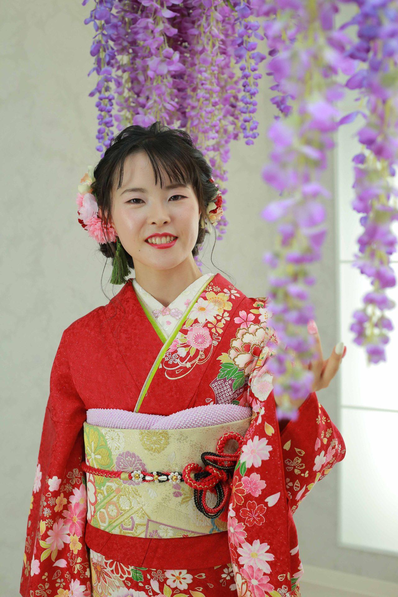 美しい白い肌♡成人式前撮り【加茂郡】