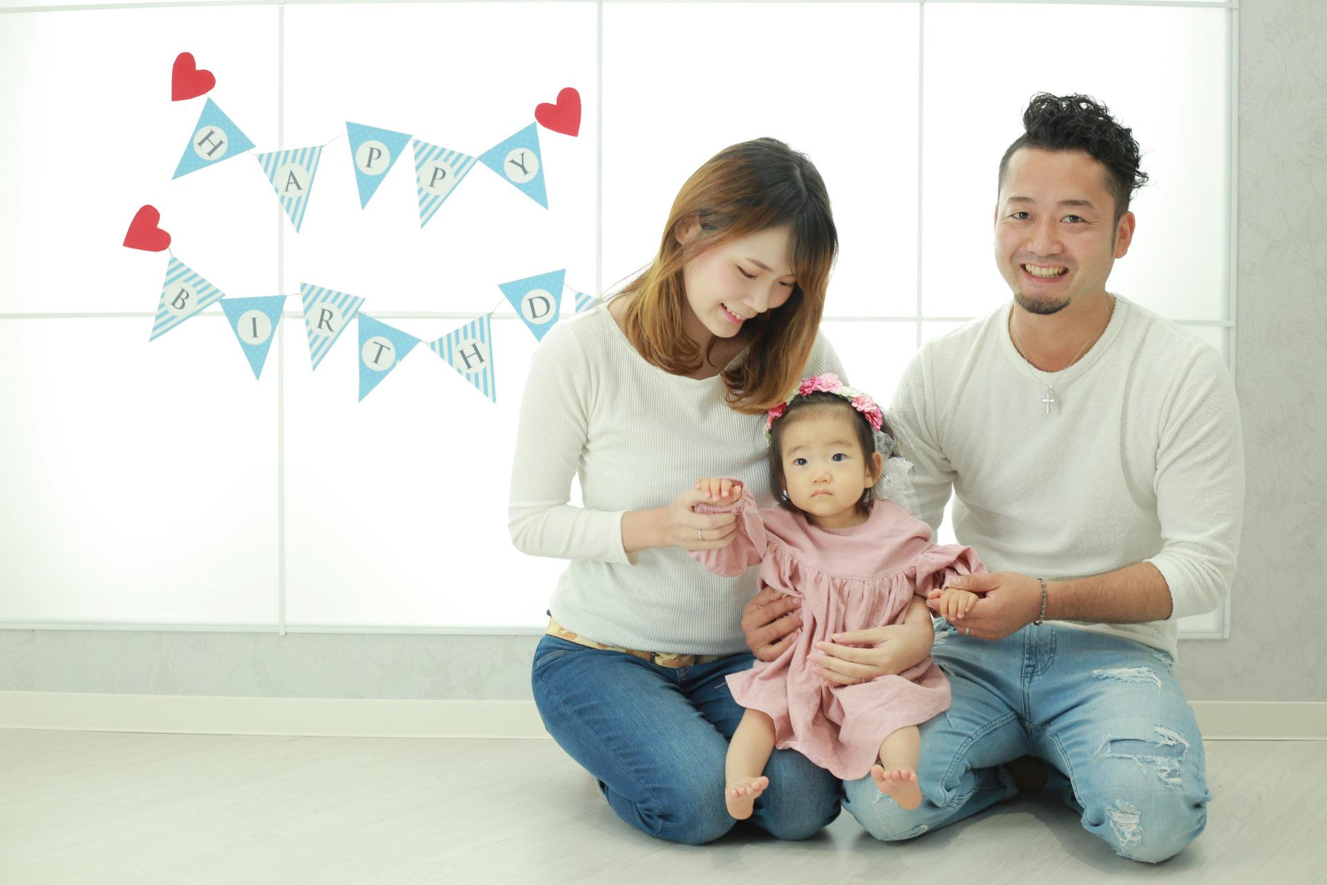 大切な記念日に♡1歳バースデー【岐阜市】