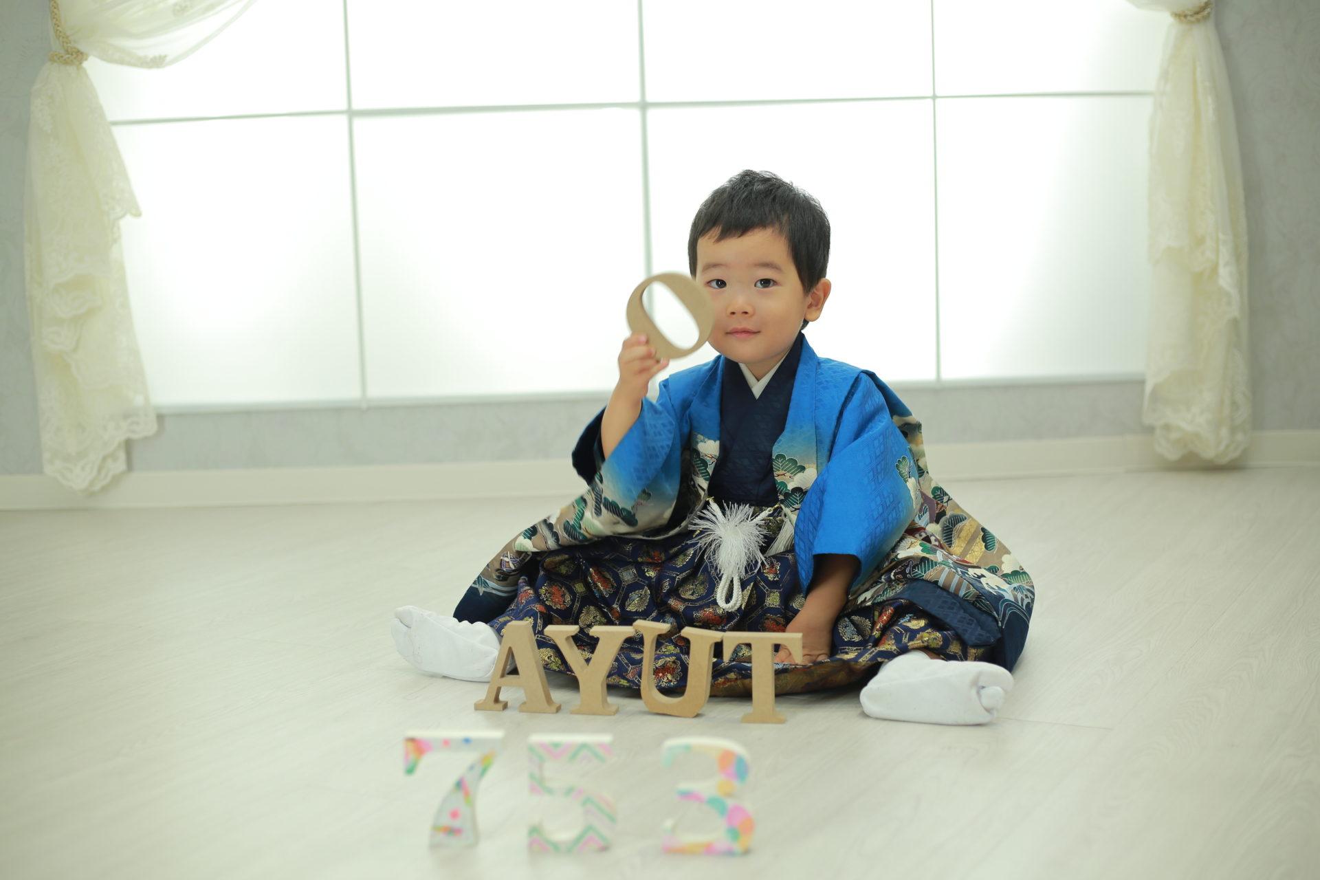 元気いっぱい☆七五三【美濃加茂市】