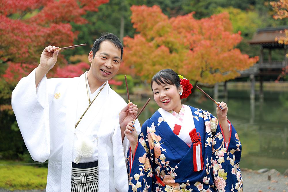 ポッキーの日に結婚写真♡【東京都・福岡県より】