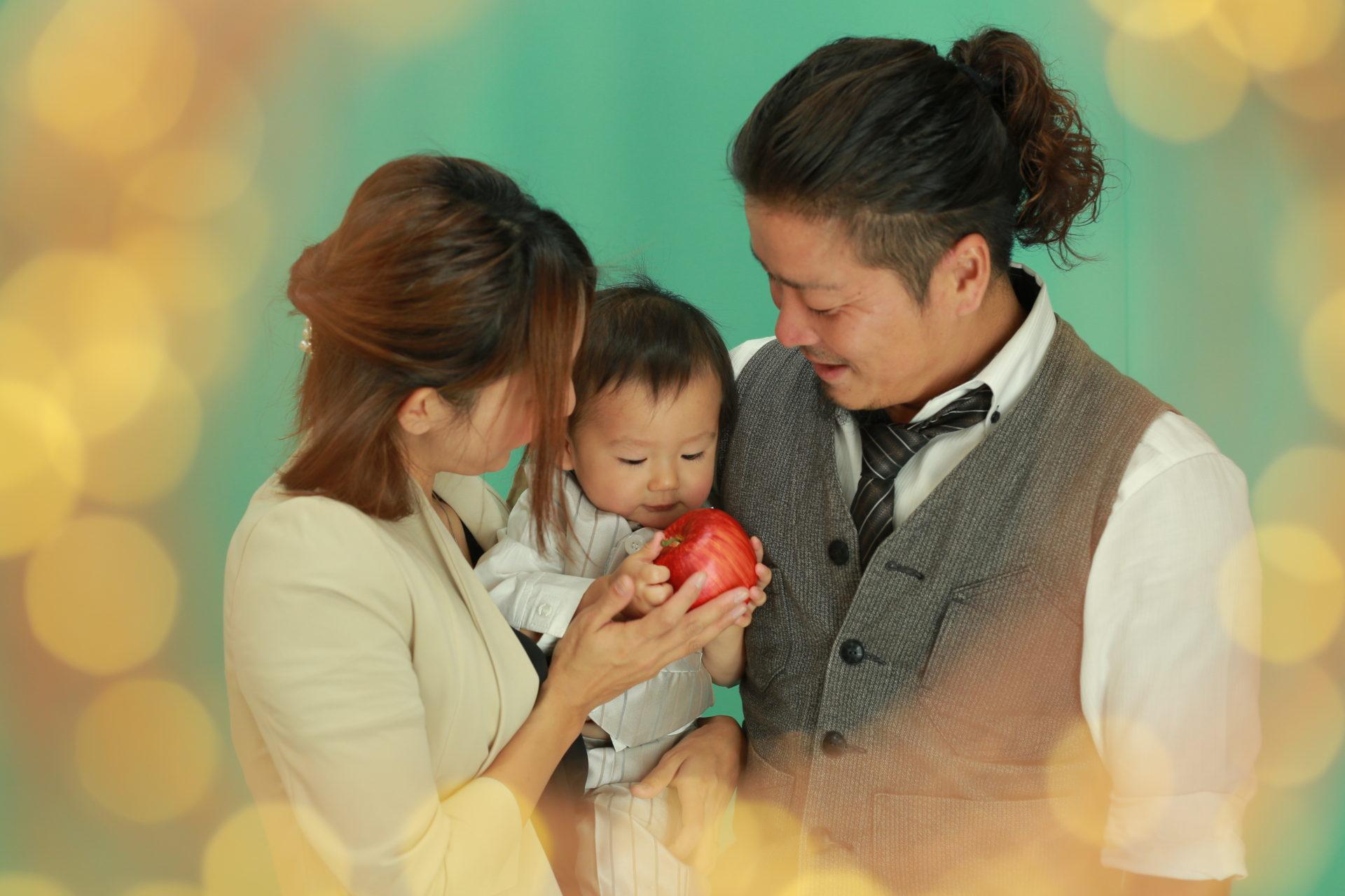 素敵な家族写真も♡1才BD【可児市】
