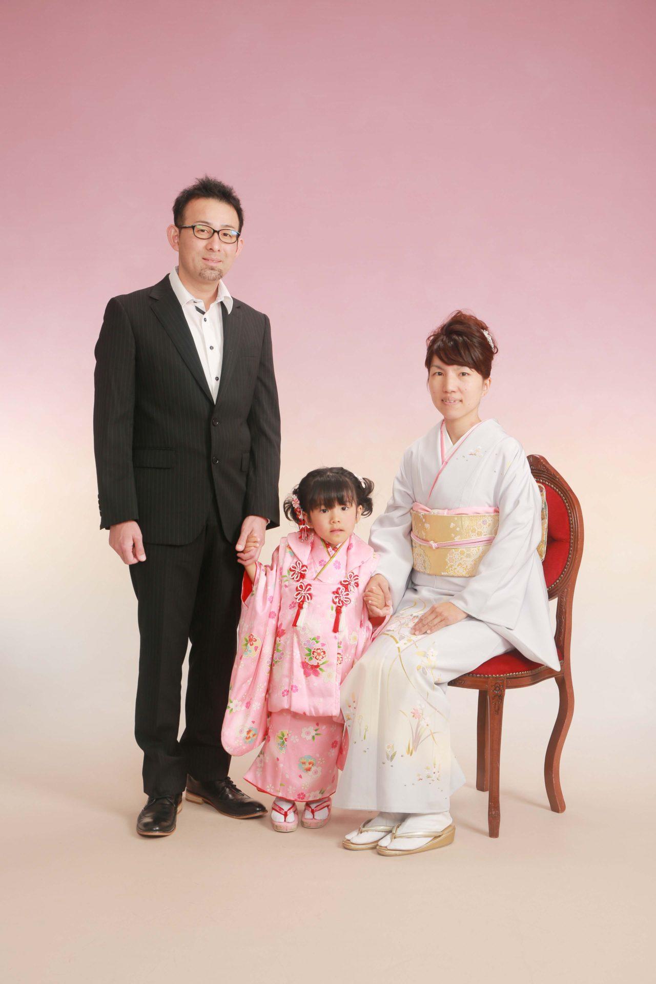 家族で仲良く☆七五三【八百津】