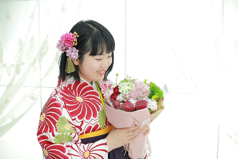 花束とともに☆【御嵩町】