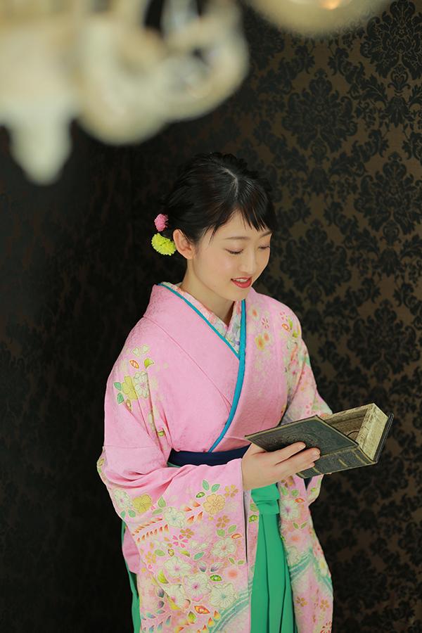 大学卒業記念写真【長野県上伊那郡】