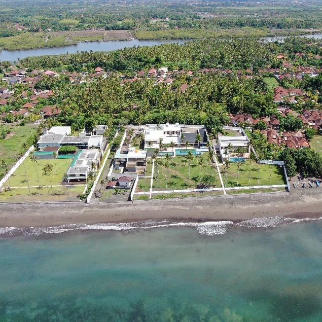 【宿泊施設】バリ島ヴィラ空撮【インドネシア】
