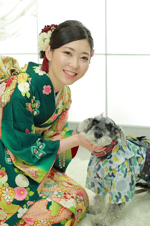 愛犬さんと成人式撮影☆【可児市】