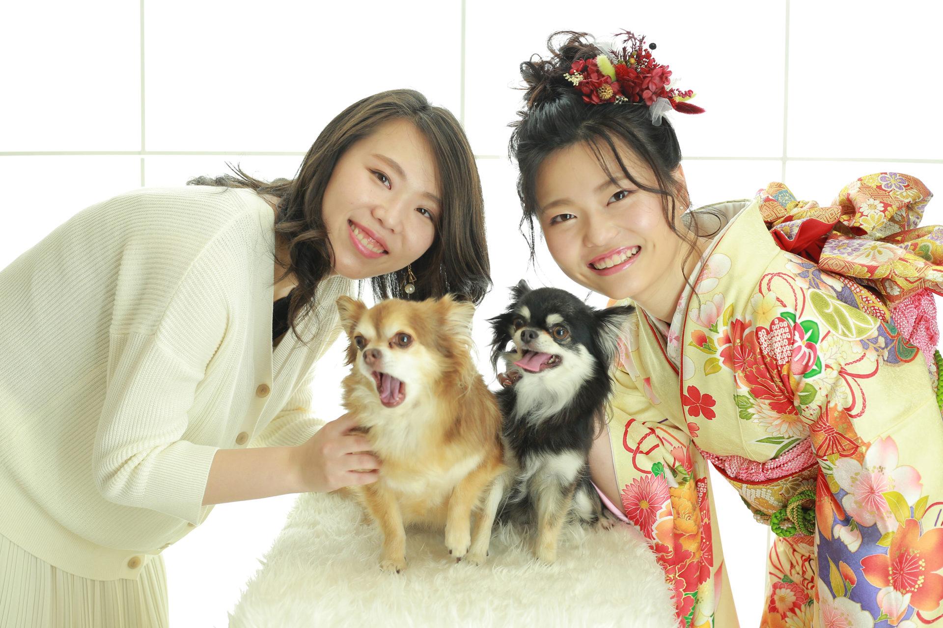 愛犬さんと成人式前撮り【可児市】