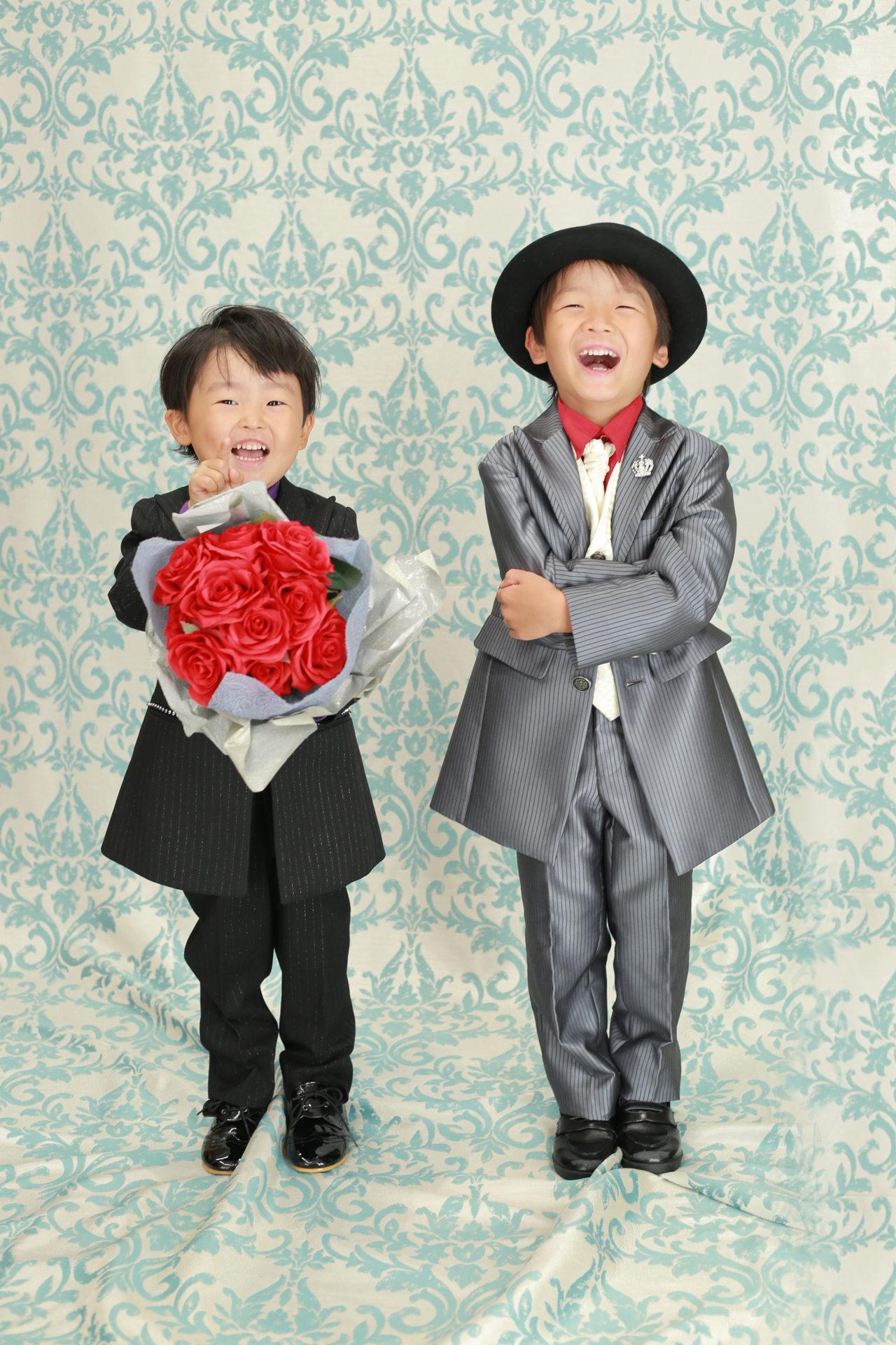兄弟2人で七五三【可児市】